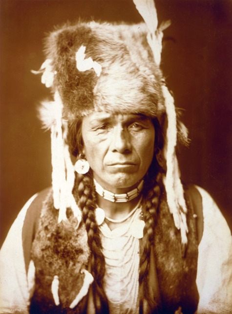 Nez Percé with furcap