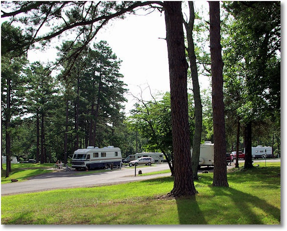 Petit Jean State Park Campground, Arkansas