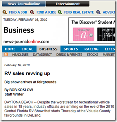 RV sales revving up