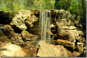 Garvan Woodland Gardens waterfall