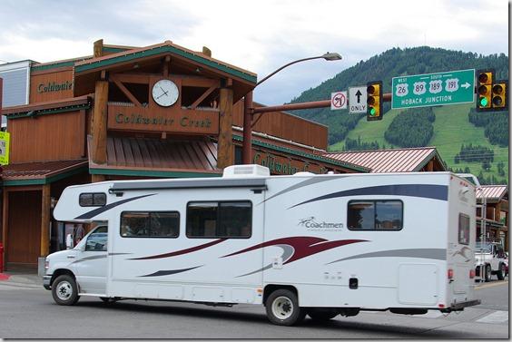 Coachmen Class C Motorhome RV in Jackson, Wyoming