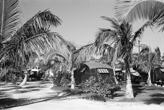 Auto trailer camp near Dania, Florida, 1937