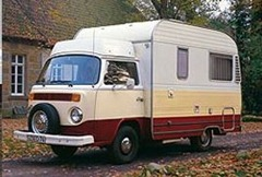 In the 70s the first Karmann motorhomes were based on the VW Type 2