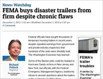 FEMA RV story