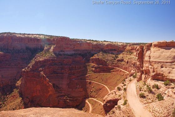 Shafer Canyon Road, Canyonlands National Park, Utah, September 28, 2011