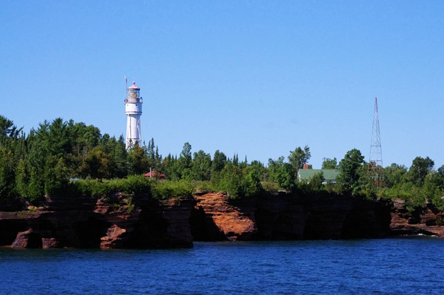 Apostle Island National Lakeshore, Wiscoansin, Apostle Island Cruises - Grand Tour, September 16, 2013 - 3