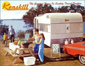 Kenskill travel Trailers 1966