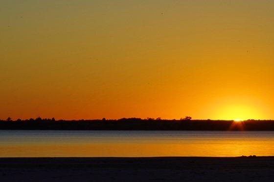 Sandy Cove, Canton Lake, Oklahoma, September 5, 2011