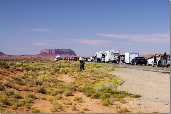 US highway 163 in Southern Utah
