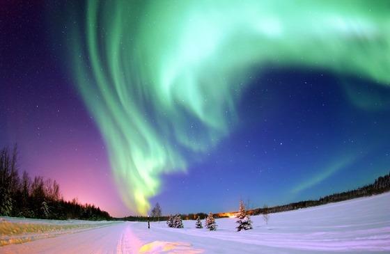aurora at bear lake