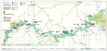 Buffalo River Map