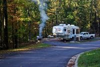 Fort Smith State Park, Arkansas,  Campground