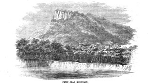 Petit Jean Mountain, 1856 -- Reports of Explorations and Surveys to Ascertain the Most Practicable and Economical Route for a Railroad from the Mississipi River to the Pacific Ocean