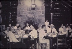 Mather Lodge, 1950s dining