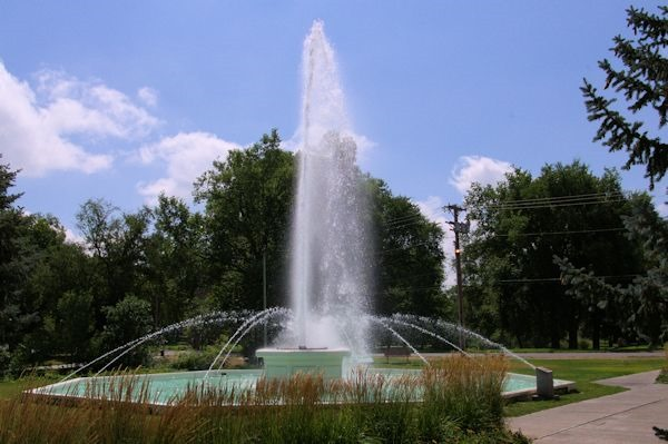 Alliance, Nebraska - city park, August 2014