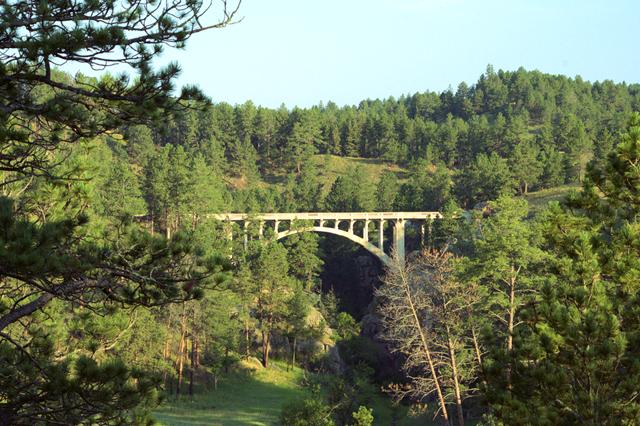 Bridge, Wind Cave National Park, August, 2014