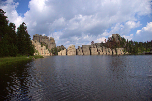 Sylvan Lake, Custer State Park, South Dakota, August 2014