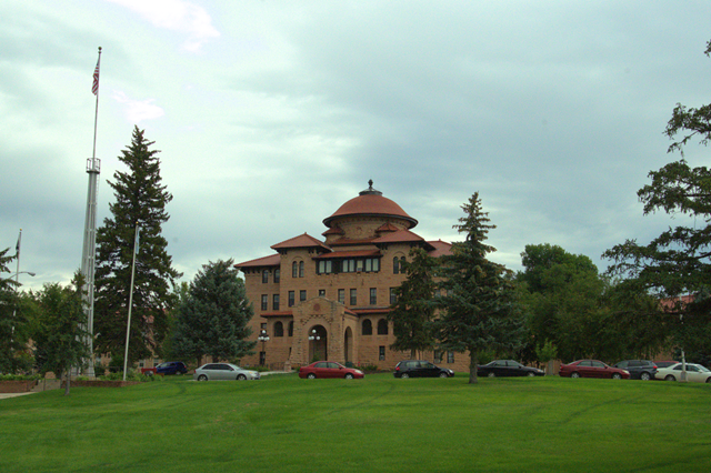 VA Hospital (Black Hills Healthcare System - Hot Springs Campus), Hot Springs, South Dakota, August, 8, 2014