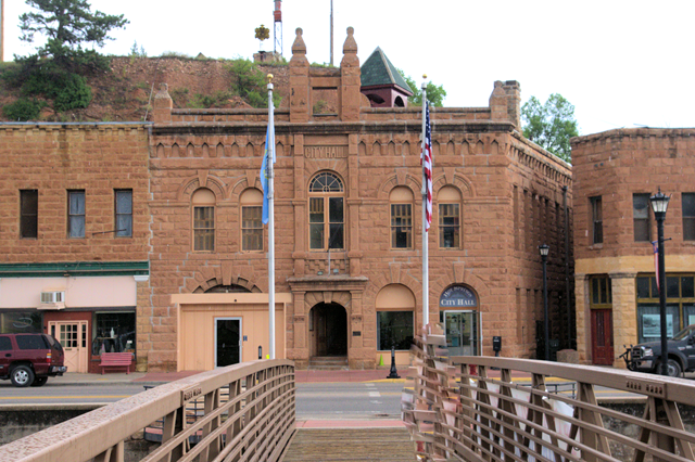 City Hall, Hot Springs, South Dakota, August, 8, 2014