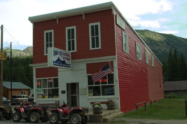 Cooke City General Store, Absaroka Range, Montana, August 13, 2014
