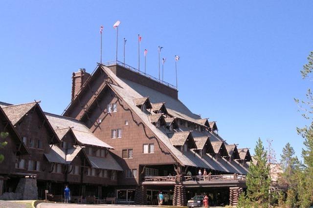 Old Faithful Inn, Yellowstone National Park, Wyoming, August 17, 3014