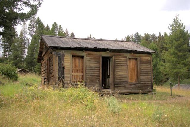 Ghost town of Garnet, Montana, August 22, 2014