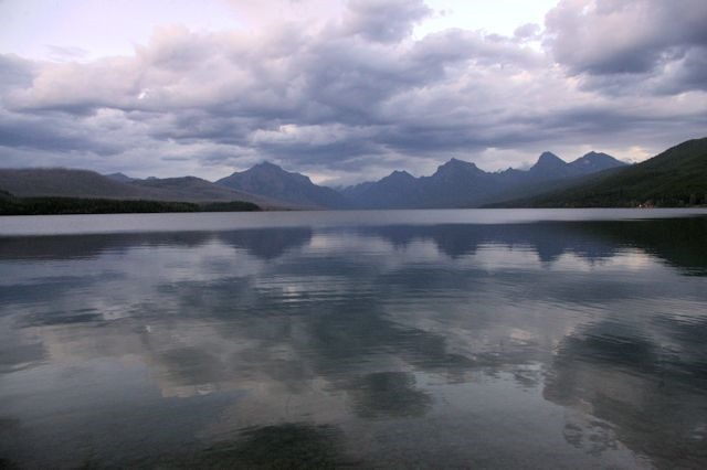 Lake McDonald, Glacier National Park, Montana, August 28, 2014