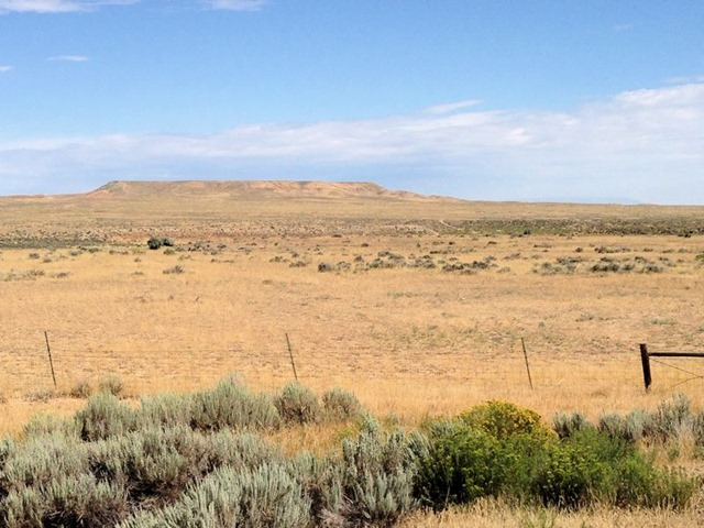 Somewhere east of Cody, Wyoming, August 2014