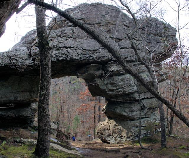 Natural Bridge, Petit Jean State Park, Arkansas